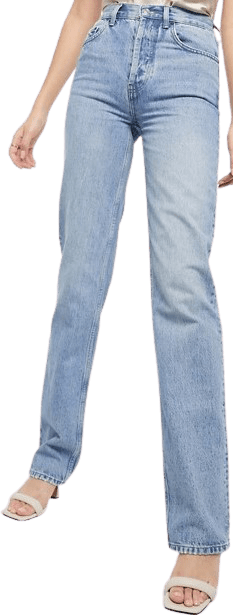 Greencast Recycled '90's' Straight Leg Jeans-Asos Design