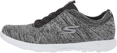 Grey Go Walk Lite Sneaker-Skechers