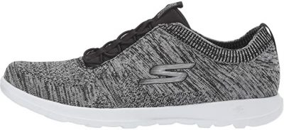Grey Go Walk Lite Sneaker-Skechers