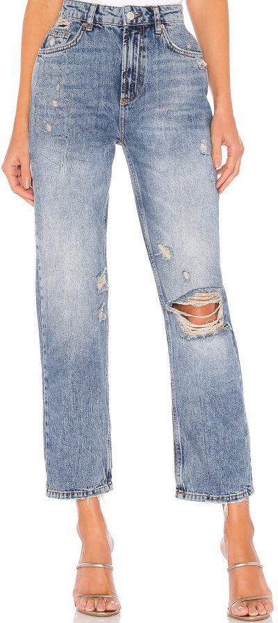 Indigo Blue Dakota Straight Leg Jeans