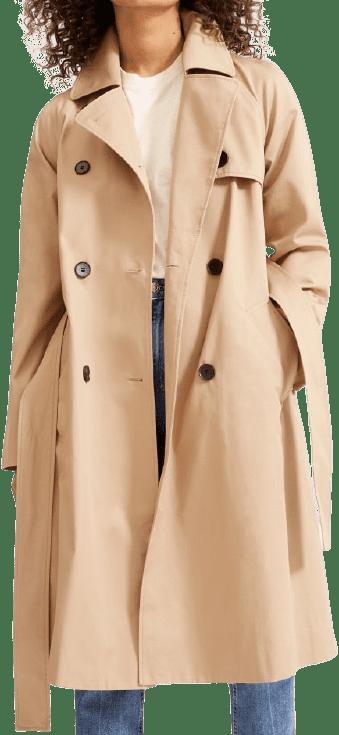 Khaki The Modern Trench Coat-Everlane