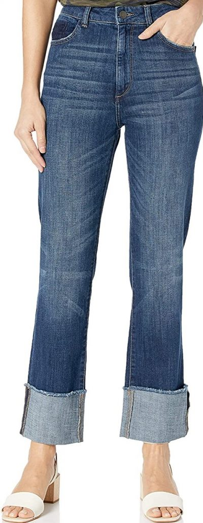 King Jerry High-Rise Straight-Fit Jeans