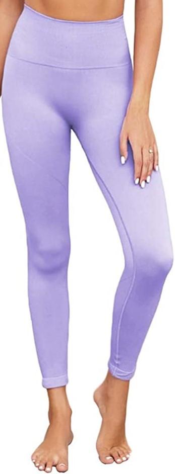 Lavender Seamless Leggings-SUPJADE