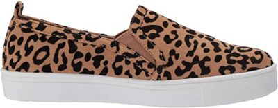 Leopard Shortly Slip-on Loafers