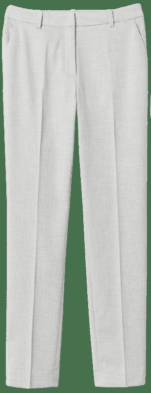 Light Grey Suit Pants