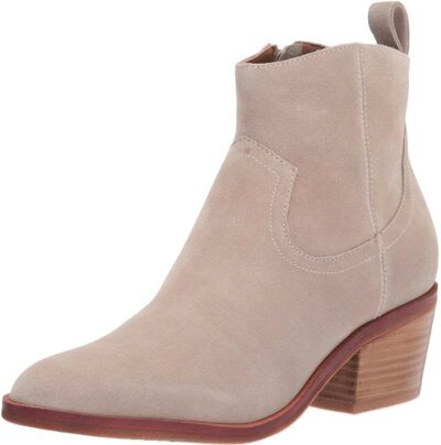 Light Taupe Western Bootie-Kenneth Cole New York