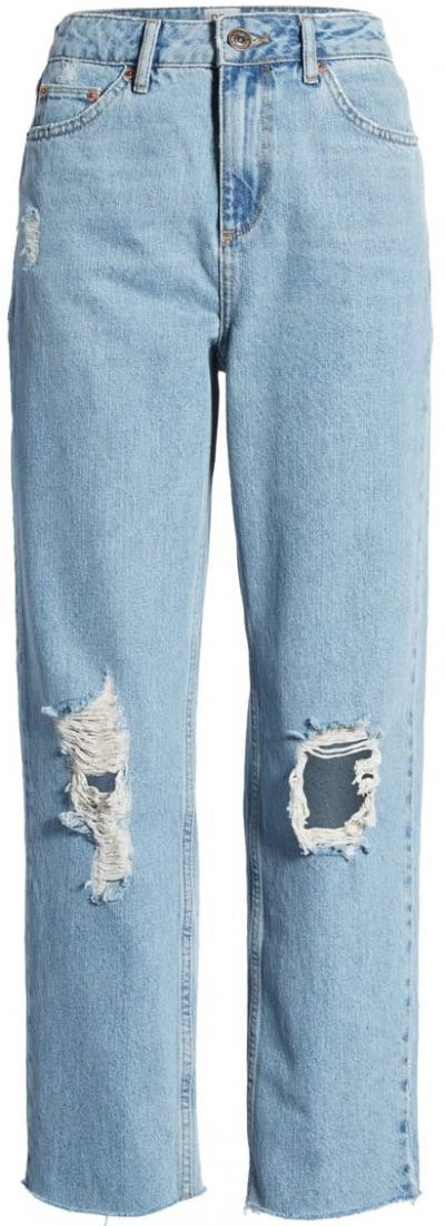Light Wash Pax Ripped High Waist Jeans-BDG Urban Outfitters
