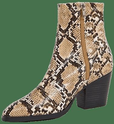 Natural Snake Charlie Western Boots
