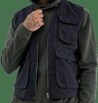 Navy Utility Vest Suit