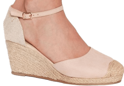 Nude Lovely Day Woven Wedges Espadrilles