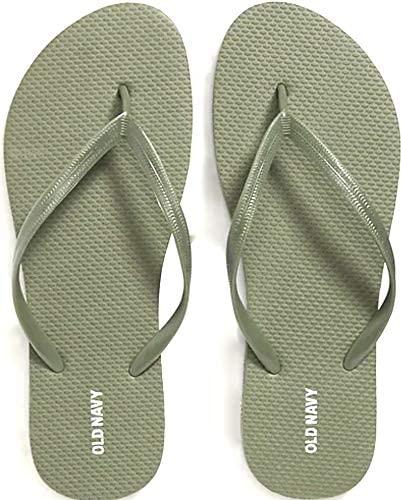 Olive Flip Flops