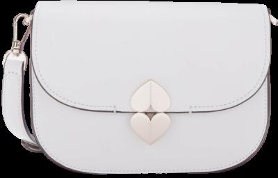 Optic White Lula Saddle Bag