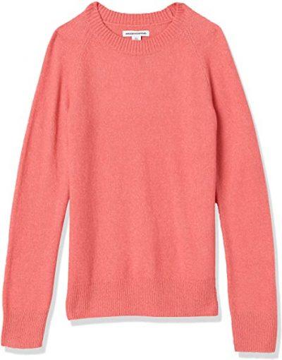 Pink Long Sleeve Crewneck Sweater