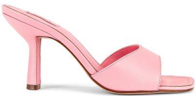 Rose Pink Posseni Mules