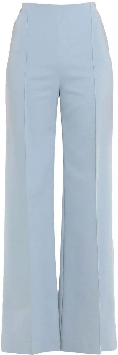 Sky Blue Casual Pants-Patrizia Pepe