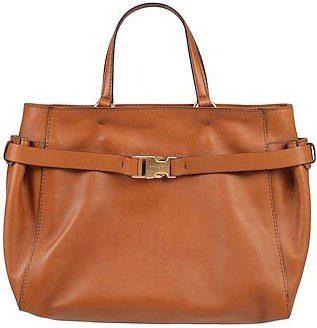 Tan Soft Leather Handbag-Gianni Chiarini