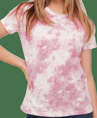 Tie-Dye Cotton Tee-Ardene