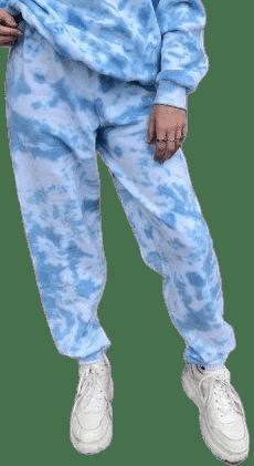 Topaz Tie-Dye Pants-EMERGEFUN