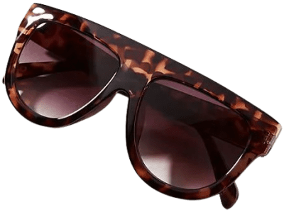 Tortoise Shield Sunglasses-Anthropologie