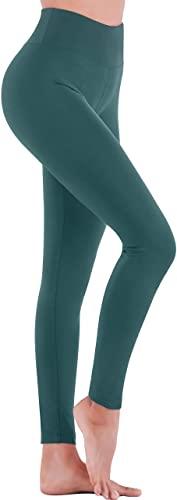 Tranquil Green High-Waist Leggings