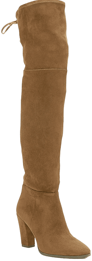 Vintage Brown Over-The-Knee Boots