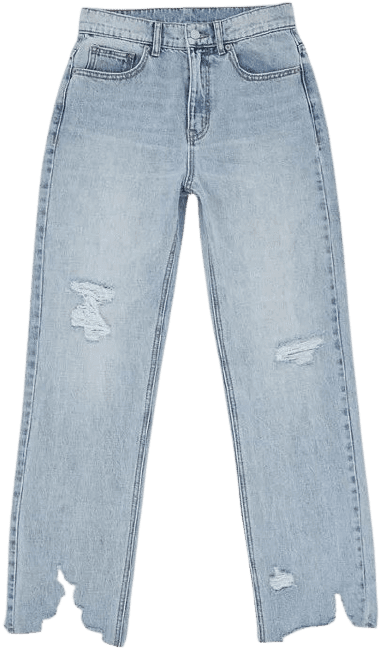 Vintage Light Wash High-Waisted Cowboy Jean-BDG Urban Outfitters