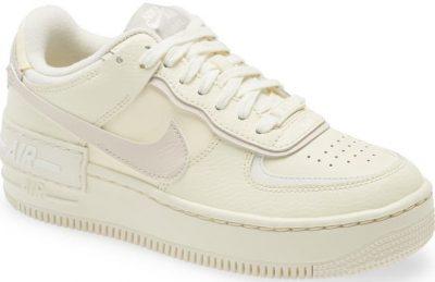 White Air Force 1 Shadow Sneaker-Nike