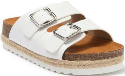White Carther Platform Sandal-DV Dolce Vita