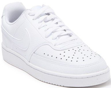 White Court Vision Low Sneaker-Nike