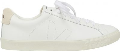 White Esplar Low Top Leather Sneakers