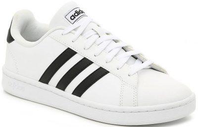 White Grand Court Sneaker-Adidas