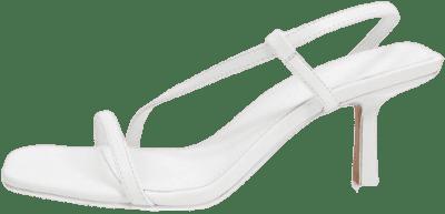 White Hammond Strappy Sandals-Asos Design