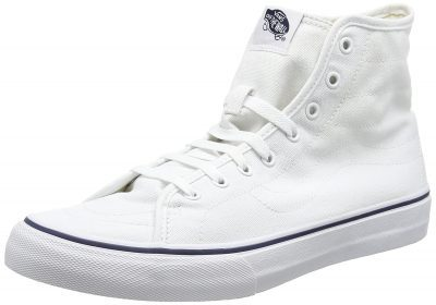White Hi-Top Sneakers