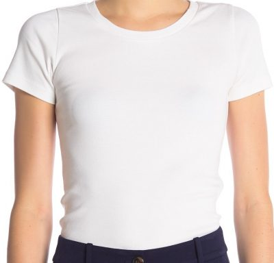 White Perfect Fit Short Sleeve T-Shirt