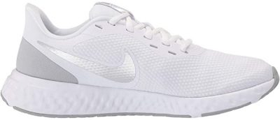 White Revolution 5 Running Shoes-Nike