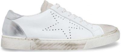 White Rezza Sneakers