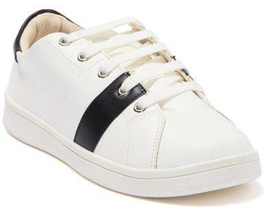 White Yaya Sneakers
