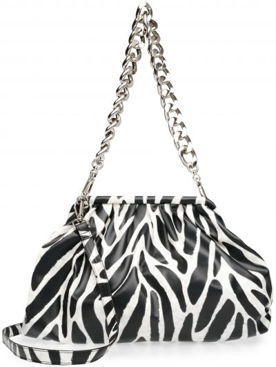 Zebra Brevive Handbag-Steve Madden