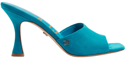 Aruba Teal Merin Mule Sandals