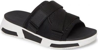 Black Alyssa Slide Sandal-FitFlop