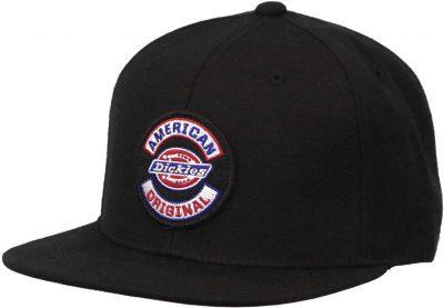 Black American Original Logo Hat-Dickies