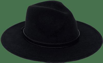 Black Buckle Fedora