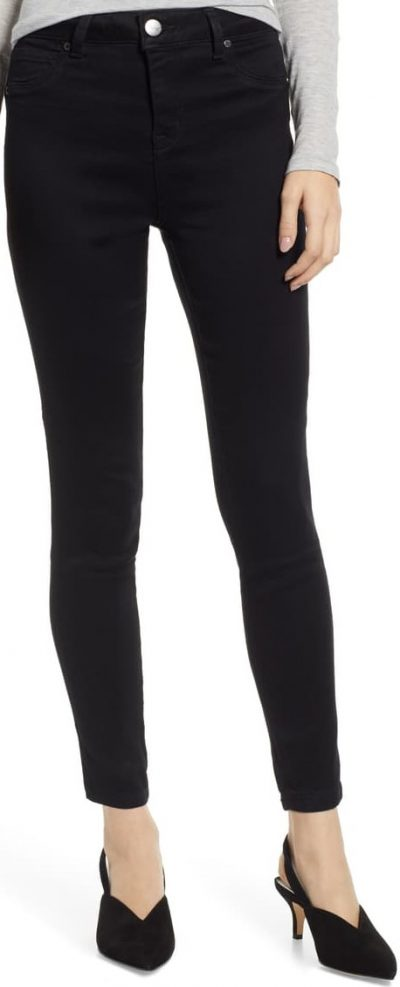 Black Butter High Waist Jeggings-1822 DENIM