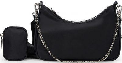 Black Bvital Handbag-Steve Madden