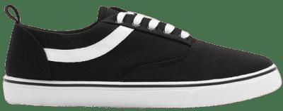 Black Canvas Sneakers-Ardene