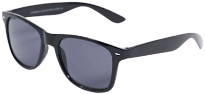 Black Classic Wayfare Sunglasses