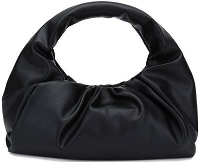 Black Dumpling Shoulder Bag-CATMICOO