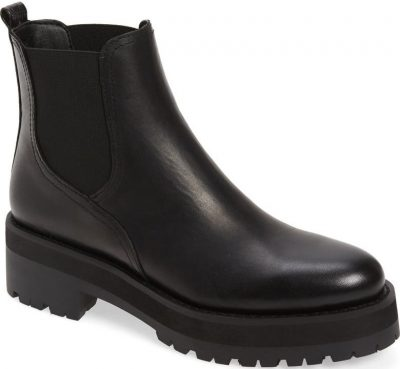 Black Justina Waterproof Chelsea Boot-Sam Edelman