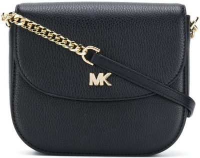 Black Mott Crossbody Bag