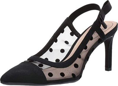 Black Naomi High-Heel Pumps